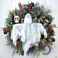 Grandin Road Halloween Wreath by 37 Best Halloween Wreaths For Front Door Images On Pinterest