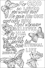 Bible Verse Coloring Pages Is Not Only Fun But Also A Very Interesting Method