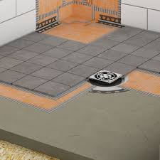 Tile Adhesive Over Redguard by Showers Schluter Com