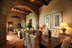 Villa Laura Farmhouse Dining Room To Living