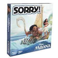 Amazon Sorry Game Disney Moana Edition Toys Games