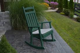 Amazon.com : Outdoor POLY Classic Rocking Chair - Amish Made ...