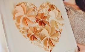 How To Make 3D Flower Paper Artwork