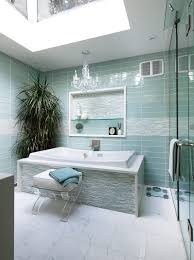 toronto teal glass tile bathroom contemporary with lucite handles