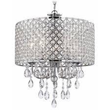 Swarovski Crystal Lamp Finials by Crystal Chrome Pendant Lights Destination Lighting