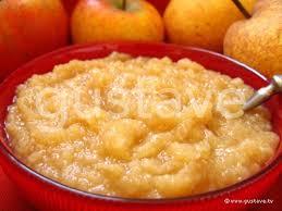 dessert a base de compote de pommes compote de pommes et poires à la cannelle la recette gustave