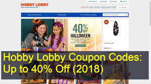 Hobby Lobby Coupon Codes: Up To 40% Off (2019) - YouTube 40 Off Michaels Coupon March 2018 Ebay Bbb Coupons Pin By Shalon Williams On Spa Coupon Codes Coding Hobby Save Up To Spring Items At Lobby Quick Haul With Christmas Crafts And I Finally Found Eyelash Trim How Shop Smart Save Online Lobbys Code Valentines 50 Coupons Codes January 20 Up Off Know When Every Item Goes Sale Lobby Printable In Address Change Target Apply For A New Redcard Debit Or Credit Get One Black Friday Cnn
