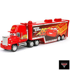 100 Cars Mack Truck Playset Mattel Disney 3 DXY87 Travel By Mattel