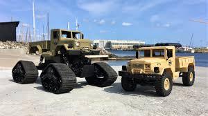 100 Deuce Truck M35A2 US Bobbed Military RC Cargo S WPL B1 Vs Zegan