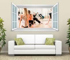 3d wandtattoo fenster frauen fitness gesundheit wand aufkleber wanddurchbruch wandbild wohnzimmer 11bd1538 wandtattoos und leinwandbilder günstig