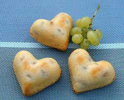 dessert aux raisins frais gâteaux légers et moelleux aux raisins blancs et fromage frais
