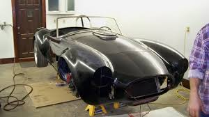 How We Built A Custom by How We Built A Custom Hood For A Burnt Cobra Barn Finds Canada
