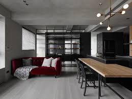 100 Studio Designs KC Design A Moody Black Apartment For A