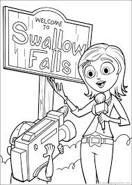 Coloring Book Chance Wiki Gallery For Gt Cloudy With A Of Meatballs Pages