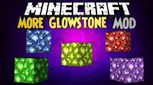 Minecraft Redstone Glowstone Lamp by Mo U0027 Glowstone Mod 1 12 2 1 11 2 For Minecraft Mc Mod Net