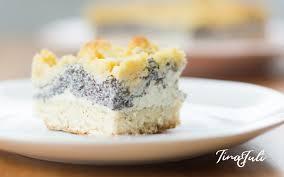 veganer käse mohn streuselkuchen mit hefeteigboden