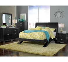 raven black 5 pc queen bedroom group badcock more badcock
