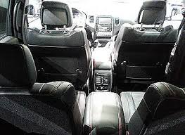 dodge durango goes first class with second row captain s chairs