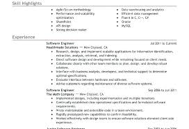 Resume Examples Software Architect Sample For