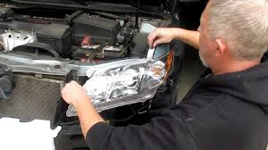 change headlight assemblies on a 2007 2011 toyota camry with