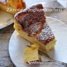 joghurtkuchen leckeres rezept mit zitrone ohne weizenmehl