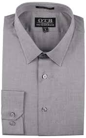 one tough brand men u0027s extra slim fit button down dress shirt ebay