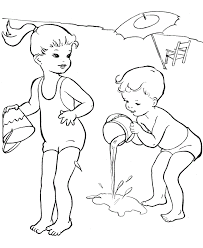 Detail 2014 Printable Coloring Pages For Summer