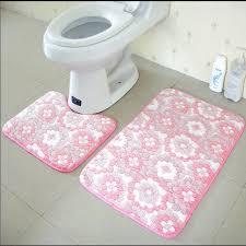 großhandel 2st set anti slip badezimmer mat set coral fleece boden badematten waschbar badezimmer wc teppiche kenna456 14 16 auf