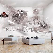 vlies fototapete abstrakt diamant 3d effekt tapeten schlafzimmer wohnzimmer ebay