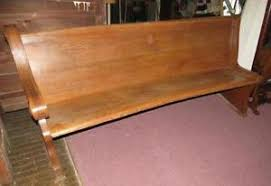 Used Church Chairs Craigslist California by Church Pew Benches U0026 Stools Ebay