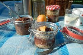 kleine kuchen und aufläufe im glas backen auch auf vorrat