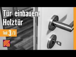 version 2013 tür einbauen holztür kapitel 3 türbeschlag