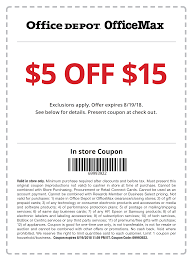 $5 Off $15 In-Store Coupon @ Office Depot Office Max ... Office Depot On Twitter Hi Scott You Can Check The Madeira Usa Promo Code Laser Craze Coupons Officemax 10 Off 50 Coupon Mci Car Rental Deals Brand Allpurpose Envelopes 4 18 X 9 1 Depot Printable April 2018 Giant Eagle Officemax Coupon Promo Codes November 2019 100 Depotofficemax Gift Card Slickdealsnet Coupons 30 At Or Home Code 2013 How To Use And For Hedepotcom 25 Photocopies 5lbs Paper Shredding Dont Miss Out Off Your Qualifying Delivery Order Of Official Office Depot Max Thread