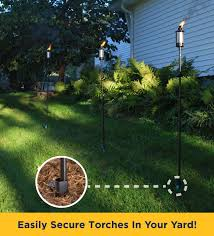 TIKI Brand King Tiki Torches - Set Of 2 - Walmart.com Amazoncom Tiki Brand 12 Oz Torch Replacement Canister 57 In Kauai Bamboo Torch1112478 The Home Depot Outdoor Mini Tiki Torches Citronella Tabletop Thatch Roof Kits For Deck How Make Hut Palm Leaf Roof Backyards Enchanting Backyard Sets Patio Materialsfor Nstructionecofriendly Building Interior Henderson House Rental Tropical Themed Dual Master Suite Since It Seems To Be Garden Showoff Season Tikinew Orleans Royal Polynesian Set Of 4 Walmartcom Grenada Torch1116081