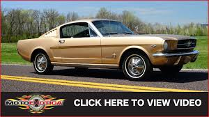 1965 Ford Mustang Fastback SOLD