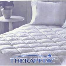 Therapedic 300 Thread Count Cotton Mattress Pad Reviews