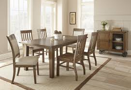 Havertys Rustic Dining Room Table by Steve Silver Hailee Dining Upholstered Side Chair Wayside
