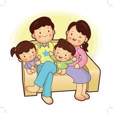 Nuclear Family Clipart