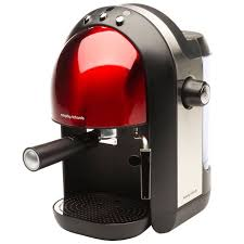 Morphy Richards Accents Espresso Red Coffee Maker Kitchen