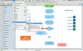 visio mac alternative conceptdraw pro vsdx export