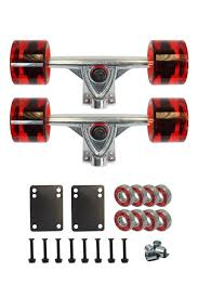 Top 10 Best Longboard Trucks In 2018 - Reviews & Buyer's Guide | Top ... Uerstanding Longboards Trucks Core 60 Raw Longboard Wheels Package 70mm Sliding Top 10 Best In 2018 Reviews Buyers Guide Penny Nickel Board Avenue Suspension Trucks Shark Wheels Bones Mini Logo Ready To Roll Truck Sets Bearings Online Shop Puente 2pcs Set Skateboard With Skate Amazoncom Combo Paris Trucks Blue Wheels Bearings Drop Through Diy How To Assemble Your And The Arbor Axis Hablak Artist 40 Complete Black Paris 50 Degrees 165mm Savant Longboard Hopkin Discover European Wheel Brands Magazine Europe