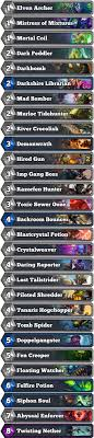 warlock aggro deck 2016 12 win decklists the arena hearthstone modes hearthpwn