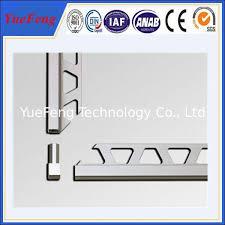 oem ceramic tile corner trim supplier brushed aluminium trim
