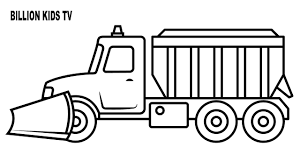 100 Truck Pages Now Snow Plow Coloring Page Activi 21002 Unknown