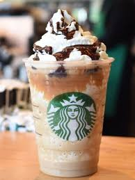 Caramel Cocoa Cluster Frappuccino Blended Coffee Beverage