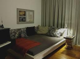bett im wohnzimmer ideen bedroom design inspiration