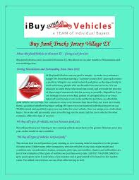 Buy Junk Trucks Jersey Village TX Pages 1 - 3 - Text Version | FlipHTML5