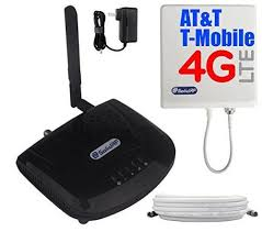 SolidRF SOHO Tri Band AT&T T Mobile 4G LTE Cell Phone Booster For All Carriers 2G 3G and AT&T T Mobile 4G LTE 700 Band12 850 1900 MHz  off and Free