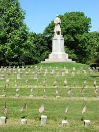 Memorial Day Graveside Decorations by Antietam Journal Memorial Day Weekend At Antietam National Cemetery