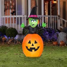 Fiber Optic Pumpkin For Sale by Halloween Air Inflatables Gemmy Halloween Airblown Inflatables